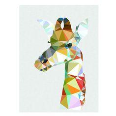 Giraffe art print – studio cockatoo