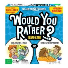 Amazon.com: Would You Rather Board Game: Toys & Games