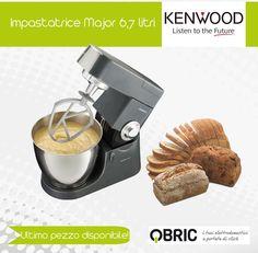 Ultimo pezzo disponibile! Affrettati! >>> http://www.qbric.it/kmm777gl.html #pane #ricette #cucina #bread