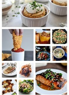 20 weeks of healthier meals I howsweeteats.com