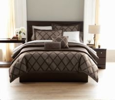 Springmaid My Finests Comforter Set Ironstone Grid | Walmart.ca