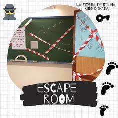 Escape Room, Breakout Edu, Ideas Para, Spin, Classroom, English, Teaching, Games, School