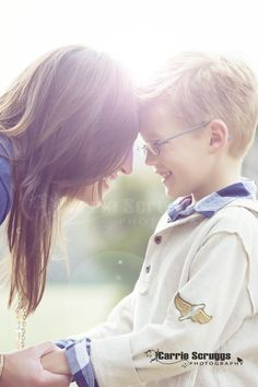 so sweet - mother and son photo