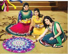 Neha Pednekar - Winner of Shravan Queen 2014 featuring in the Diwali 2014 Editorial in Maharashtra Times