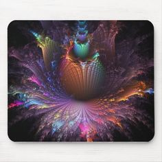 Photo-Negative Flower Explosion Mouse-pad Diy Flowers, Colorful Flowers, Photo Negative, Custom Mouse Pads, Party Hats, Sewing Crafts, Needlework, Cross Stitch, Arts And Crafts