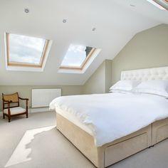 Landmark Lofts Has Chosen This Photograph Of A Dormer Loft Conversion Bedroom In Sw13