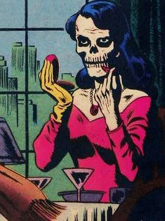 Two ghouls with an affinity for all things horror. Grab your favorite spirits and snacks while we dive into creepy, kooky, mysterious and spooky topics! Old Comics, Comics Girls, Vintage Comics, Comic Books Art, Comic Art, Book Art, Arte Horror, Horror Art, Horror Films