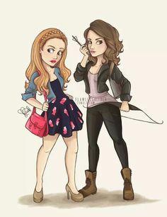 Lydia e Allison