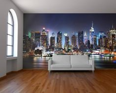 City view wallpaper mural from Watts London | Made By Watts London | £79.00 | BOUF