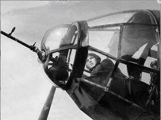 He 111 nose gunner