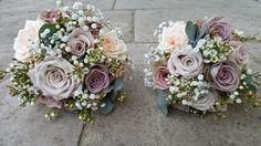 Boquet, Rose Bouquet, Bridal Bouquets, Lilac Grey, Grey And Gold, Amnesia Rose, Lavender Weddings, Dream Wedding, Wedding Day