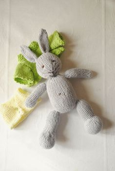 Knitted Toys – Bunny Rabbit