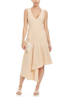 SIX CRISP DAYS Sleeveless V-Neck Flowy Dress