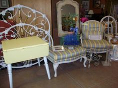 Fabulous chair and ottoman by Harden.