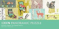 1,000 Pc Panoramic Puzzle Mystic Forest Sarah Watts (1990) Barnes and Noble http://www.amazon.com/dp/B00XLP1BBI/ref=cm_sw_r_pi_dp_CjMhwb114S1GS