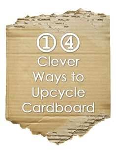 There are lots of great ideas to upcycle cardboard, so before you throw them into the trash may want to use them back and create something new?