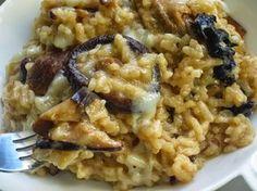 Risotto de setas y foie con thermomix, risottos thermomix, arroces con thermomix, Couscous, Polenta, Rice Recipes, Healthy Recipes, Quinoa, Rice Pasta, Good Food, Yummy Food, Fusion Food
