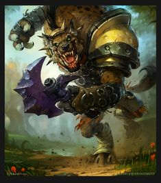 http://wanelo.com/p/3589015/zygor-guides - World of Warcraft TCG - Hogger