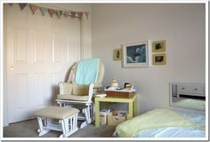 Designing a Baby Nursery (When You're Sharing a Room) | Joyful Abode