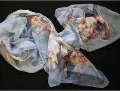 Tolle-Tücher.de schal chiffon seide Satin, Chiffon, Clothes, Accessories, Scarves, Silk, Amazing, Silk Fabric, Outfits