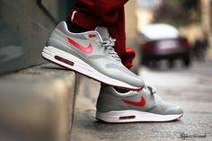 new styles 40f85 32bb6 Nike Air Max 1 Hyperfuse 3M Metallic Silver WMNS Air Max 1, Nike Air Max