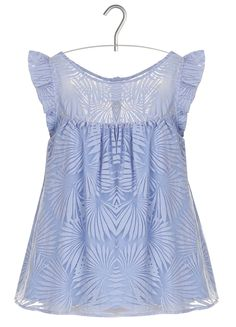 E-boutique Top En Jacquard Bleu Paul And Joe createurs | Place des Tendances