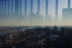 Смотровая площадка, расположенная на 100 этаже строящегося здания Всемирного торгового центра, которая будет открыта для посещения в 2015 году. Нью-Йорк, США. Фото: Reuters