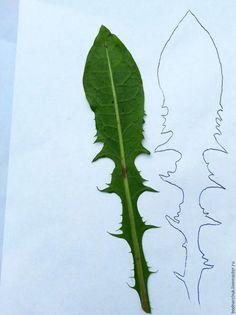 Делаем шаблоны для флористики: снимаем выкройки с цветочков - Ярмарка Мастеров - ручная работа, handmade