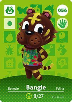 Nintendo Animal Crossing Happy Home Design Bangle Amiibo Card 056 USA Version #Nintendo