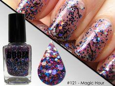 Magic Hour (121) - Glitter Nail Polish - Glitter Nails - Nailpolish - Holographic Holo