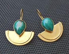 Ohrringe_Ringe_Edelstein_Schmuck _Hand gemacht von SILBERSTEINSONNE Hand Made, Big Earrings, Gems Jewelry, Rhinestones