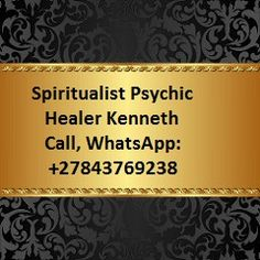Best Award Winner Psychic, Call / WhatsApp: +27843769238
