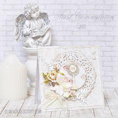 First Communion Card *DT Lemoncraft* - Scrapbook.com