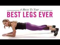 4 Moves for Your Best Legs, Ever: Workout with Hannah Davis, Ep. 4 - YouTube