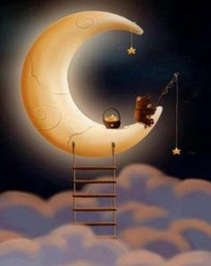 """aquariusplanet - Luna """" Luna The Effective Pictures We Offer You About trends tik tok A quality picture can tell - Sun Moon Stars, Sun And Stars, Good Night Moon, Good Morning Good Night, Moon Illustration, Moon Pictures, Moon Magic, Beautiful Moon, Over The Moon"""