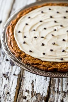 Paleo Cookie Pizza will give you the cookie you've always dreamed of. And it's paleo!