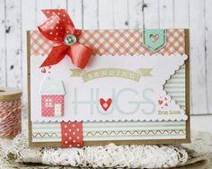 Sending Hugs From Home Card