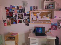 #harrystyles #harry #room #decor #roomdecor #aesthetic #teenageroom #indie #filter #wall #posters #collage #bedroom #map