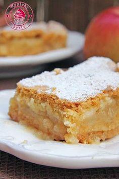 Apple Tart Recipe, Apple Cake Recipes, Dessert Cake Recipes, Baking Recipes, Polish Desserts, Polish Recipes, Pumpkin Cheesecake, Food Cakes, Sweet Recipes