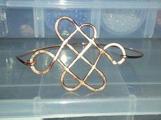 My first copper celtic knot bracelet