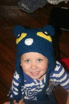 Made to Order Pete the Cat inspired hat: Adult, Teacher, by Alliehats on Etsy