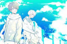 All Anime, Anime Guys, Manga Anime, Anime Art, Manga Cute, Cute Anime Boy, Dark Art Illustrations, Illustration Art, Vocaloid
