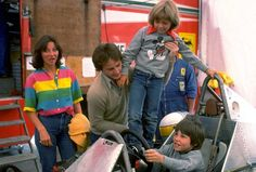 Gilles with his family