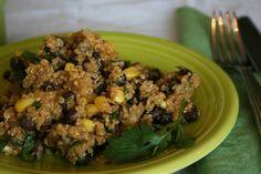 LASSENS black bean quinoa salad lassensloves.com