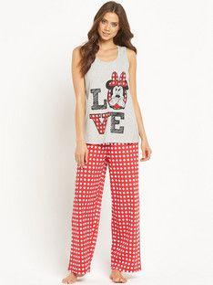 34fa0db273 Character Minnie Mouse Pyjamas Pjs