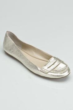 Nine West Open Sesame Flats in White - Beyond the Rack $39.99