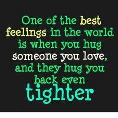 Hug tight