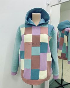 Sport Outfits, Kids Outfits, Diy Sweatshirt, Hoodies, Sweatshirts, Winter Tops, Couture, Sweaters, Sewing