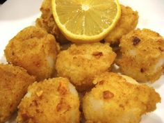 Breaded Scallops, Thanks to the Westford Winter Farmers Market - Top News - Westford, MA Patch Seafood Scallops, Fried Scallops, Sea Scallops, Turkey Recipes, Fish Recipes, Seafood Recipes, Breaded Scallops Recipe, Wassail Recipe