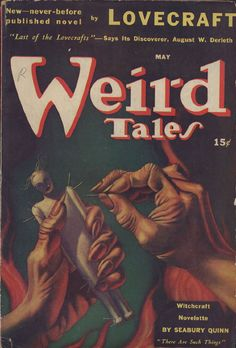 May there are such things http://visualmelt.com/Weird-Tales-Magazine-covers